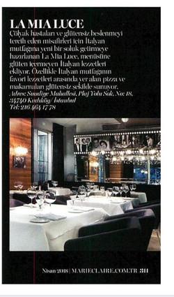 Marie Claire Dergisi Nisan Sayısı
