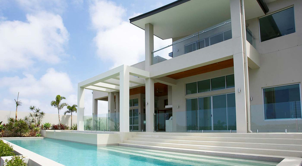 Frameless glass pool fence from euroglass\