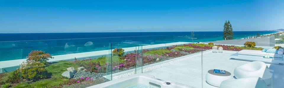 External balustrade with a view noosa