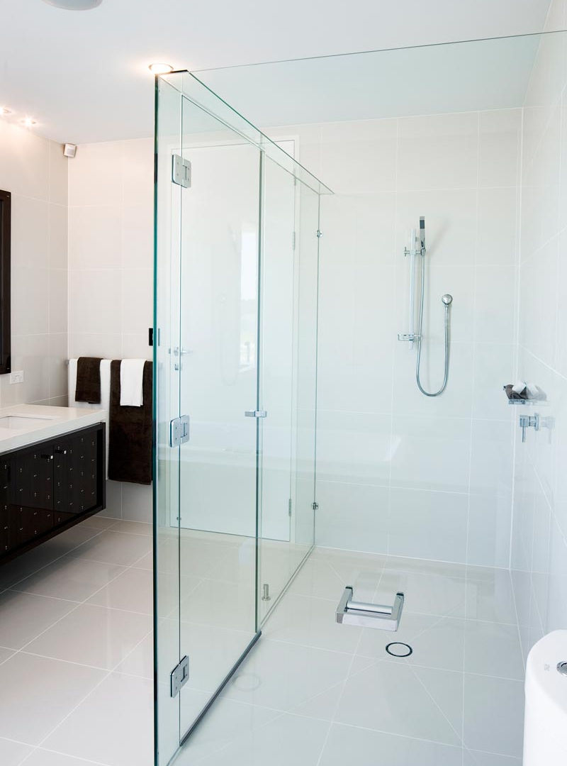 Two Square shower screen