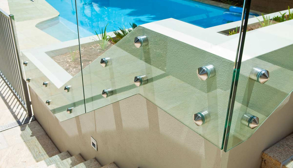 Pin fixed custom pool fence panels brisbane
