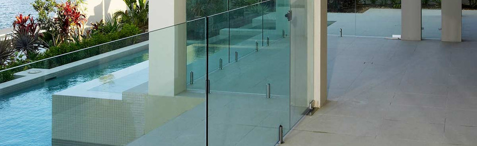 Glass-pool-fence-with-round-spigot-and-w