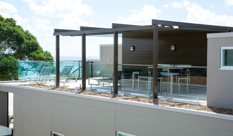 Engineered glass balustrade