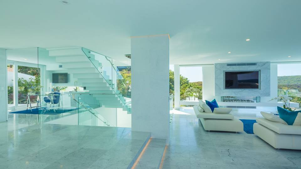 Interanl staircase and balustrade noosa, sunshine coast \