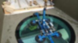 Pool Porthole Glass Installation | Euroglass | Brisbane, Australia