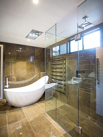 Two Square shower screen brisbane