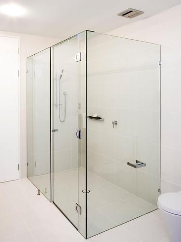 Large Square shower screen brisbane