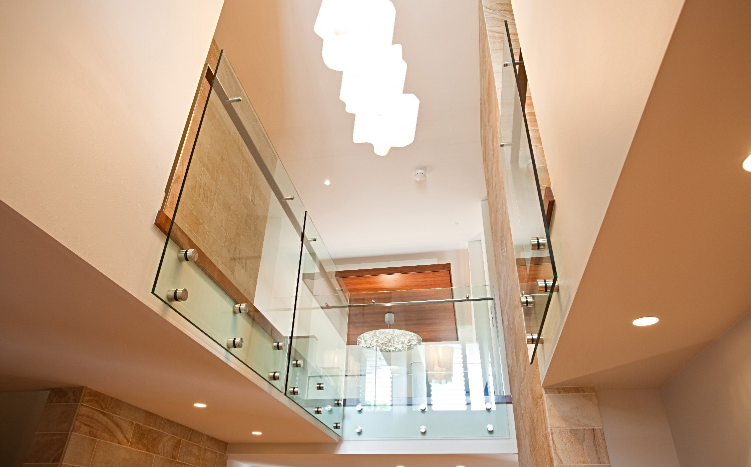 pin fixed internal balustrade with offset handrail brisbane