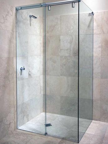 Hydro-slide square shower screen