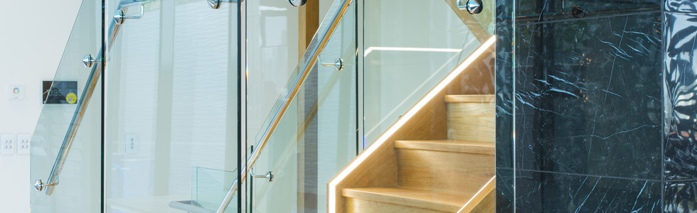 Amazing glass staircase installed in Brisbane