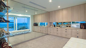 Frameless mirror Brisbane