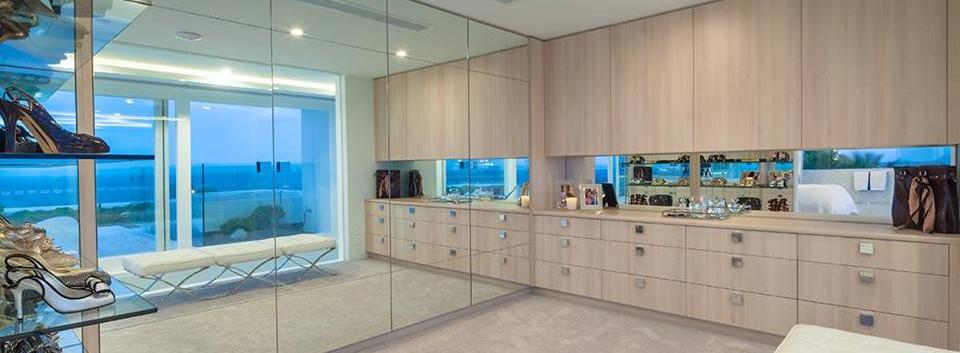 Custom floor to ceiling mirror noosa
