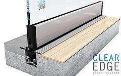 Trip Free Glass Door Track Option | Euroglass | Brisbane, Australia