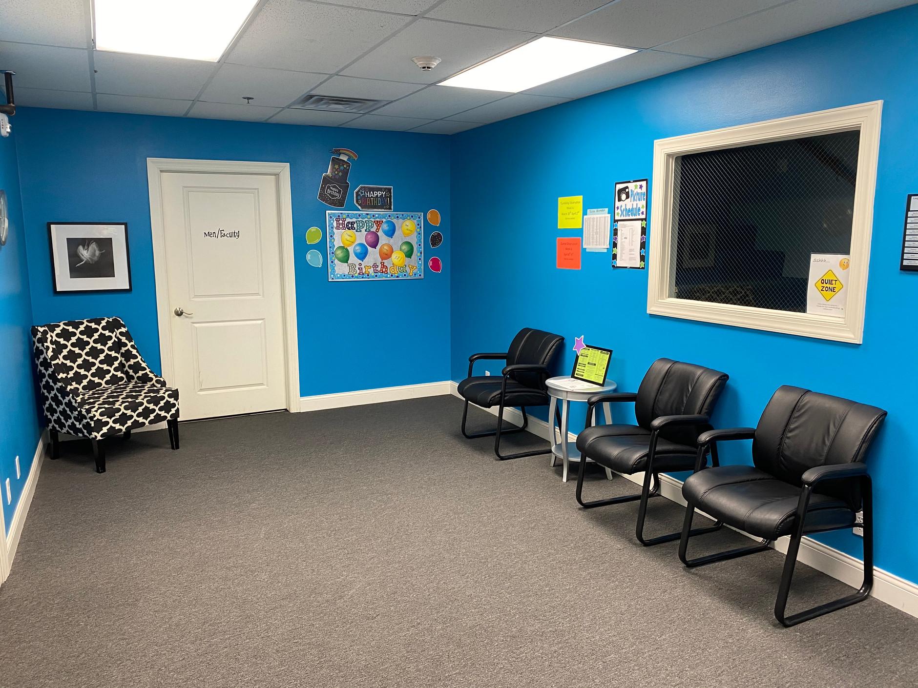 Studio C Lobby/Restroom Area