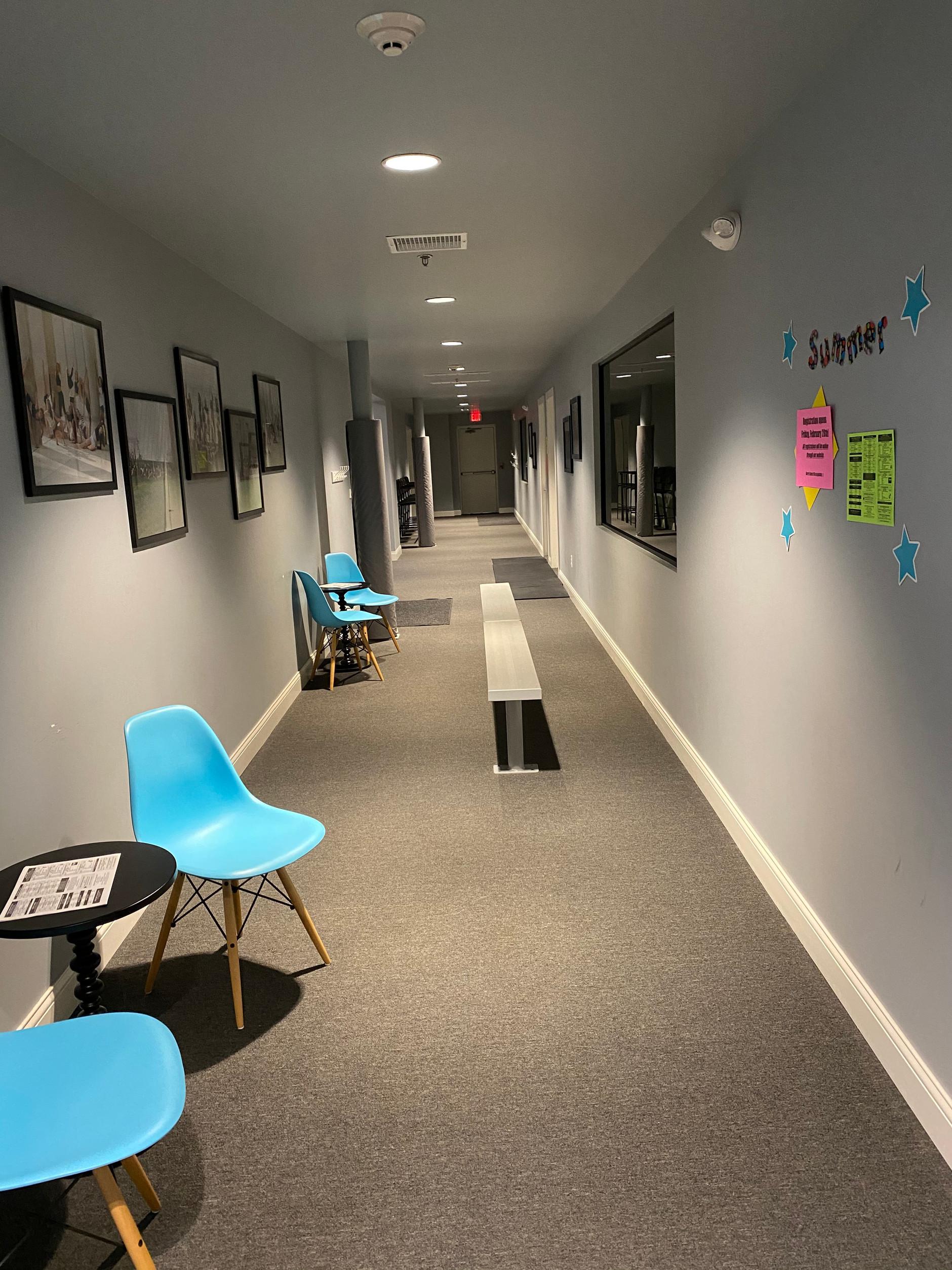 Studio D & E Viewing Area