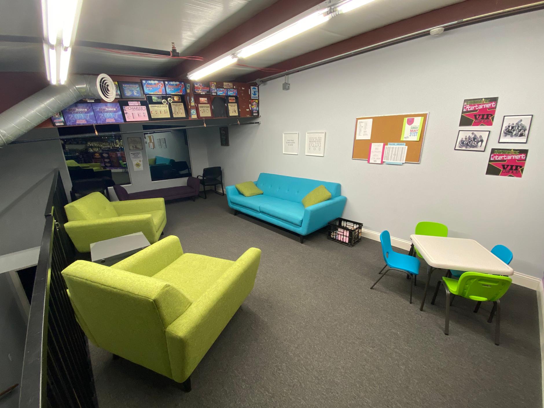 Studio C Upper Level Viewing Area