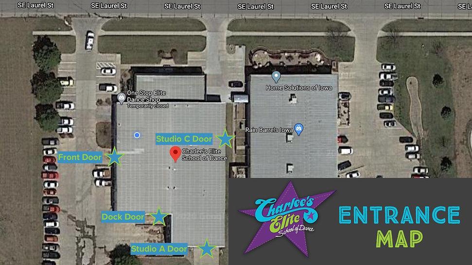 CESOD Entrance Map