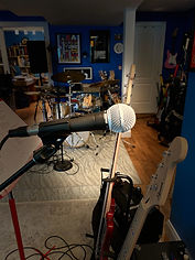 JAM's rock band rehearsal setup