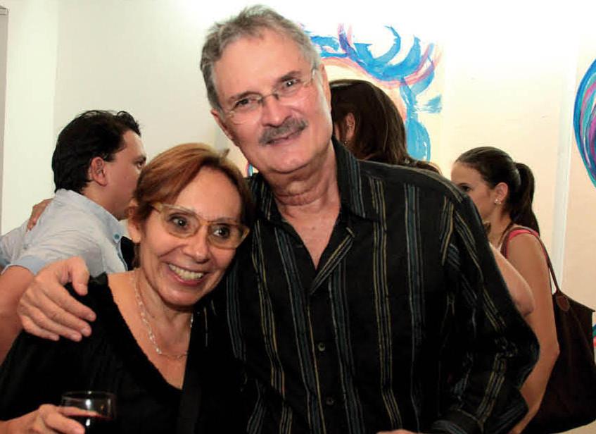 Nora Habed y Sandro Peñalba