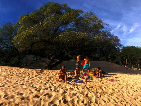 Un dia de fantasia en la playa