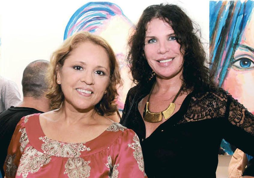 Mayra Silva y Kohar Peñalba