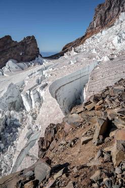 Crevasse on Rainier