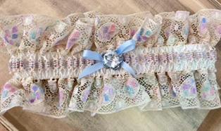 Cocoa Couture Handmade Garter