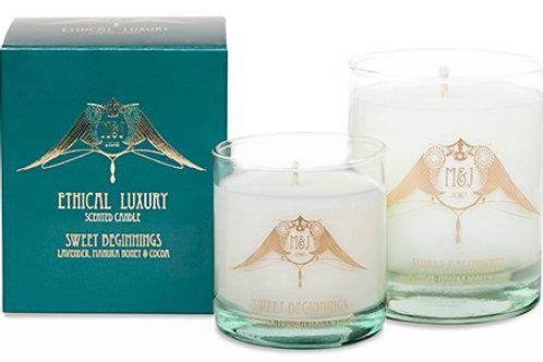 Sweet Beginnings Luxury Ethical Candle