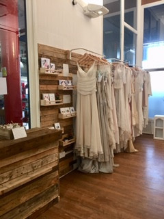 How we opened our sustainable bridal shop!
