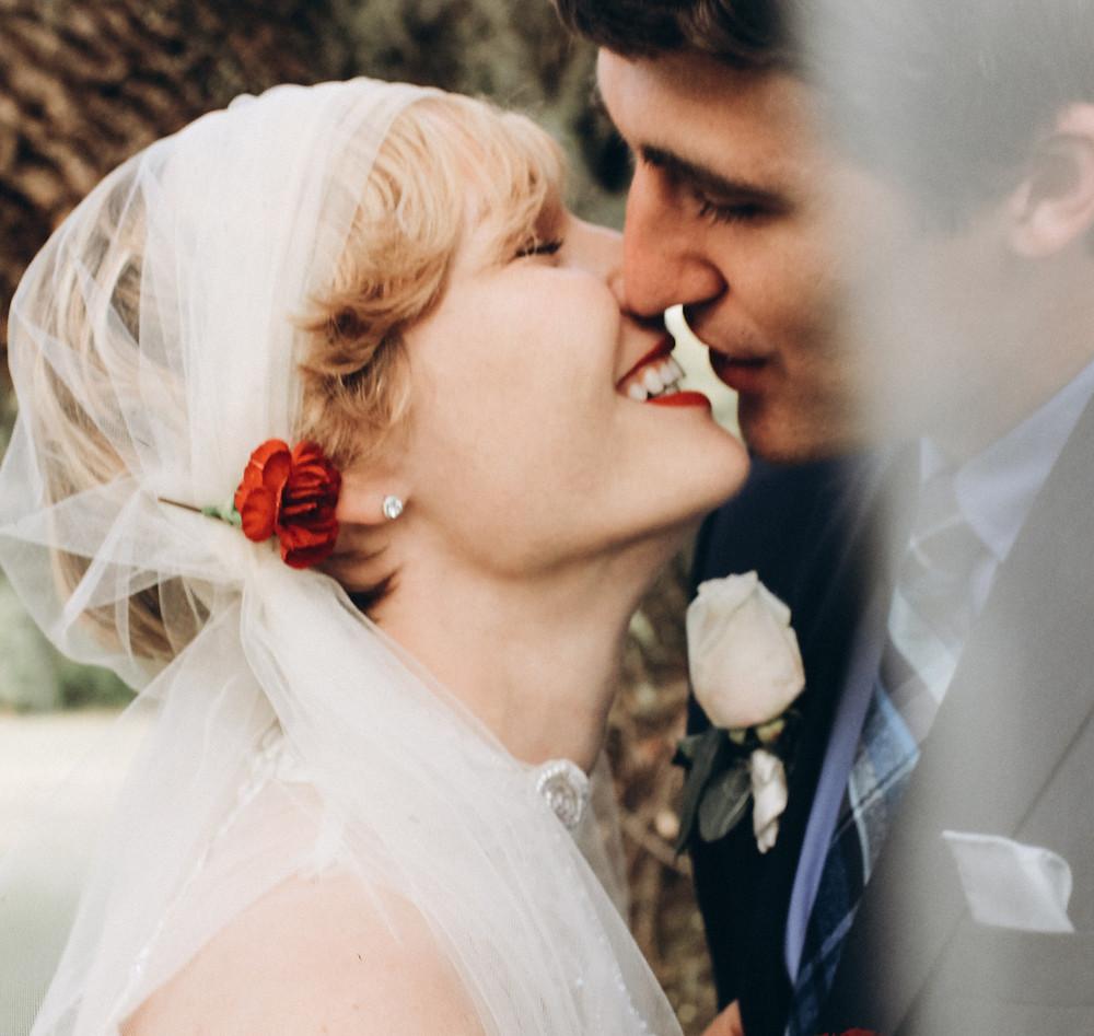 older bride and goom