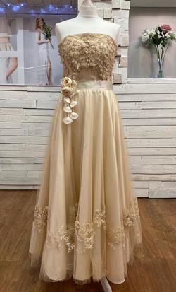 Tea Length Bridal Dress