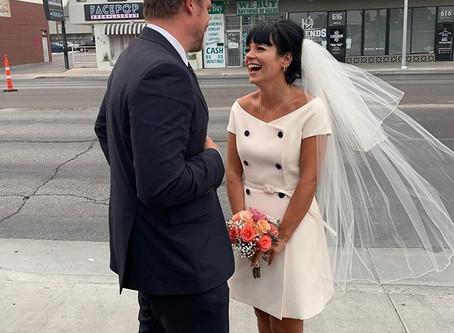17 Unique Celebrity Bridal Looks