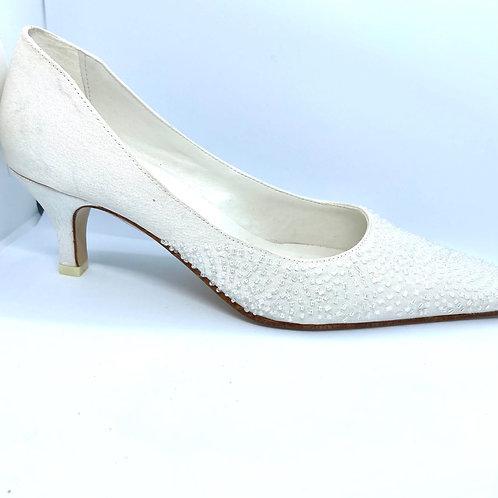Beaded Bridal Shoe