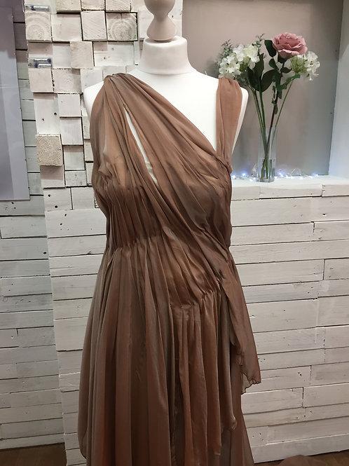 Cocoa Couture Silk Dress