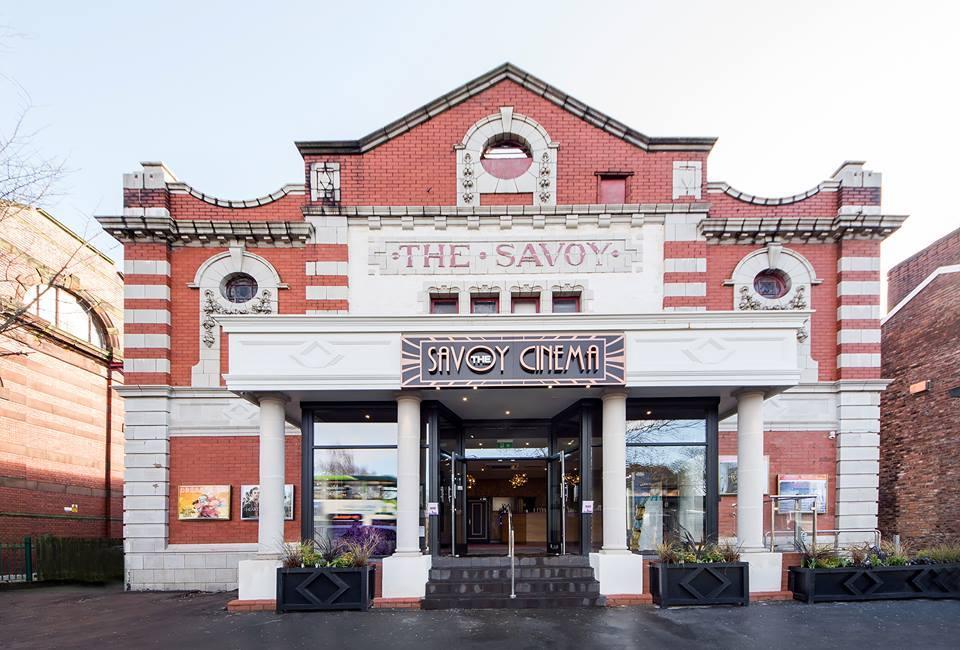 savoy cinema stockport unique wedding venue