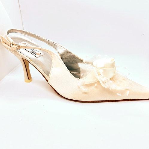 Flower Detail Bridal Shoe