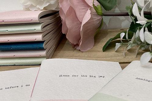 Note book/Wedding Planner