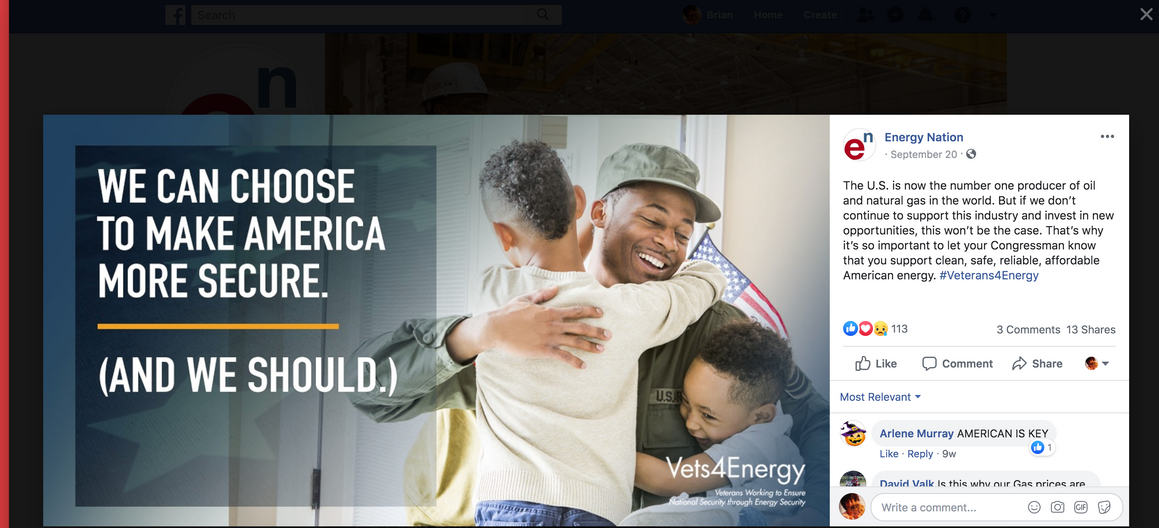Energy Nation_ Facebook