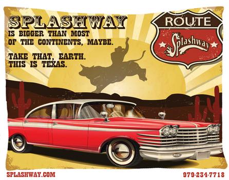 Splashway Texas OOH
