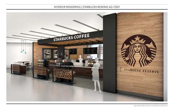YUL Airport Starbucks
