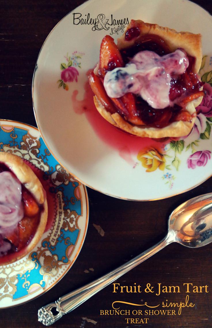 Fruit & Jam Tart