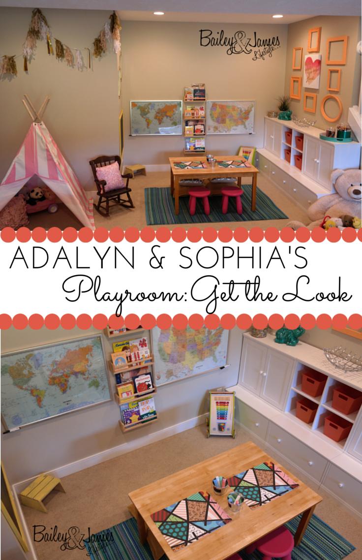 Adalyn & Sophia's Playroom: Get the Look