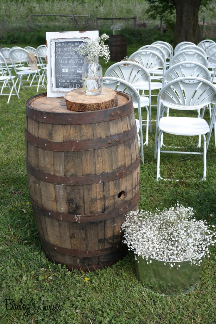 BEAUTIFUL BRAN WEDDING CEREMONY