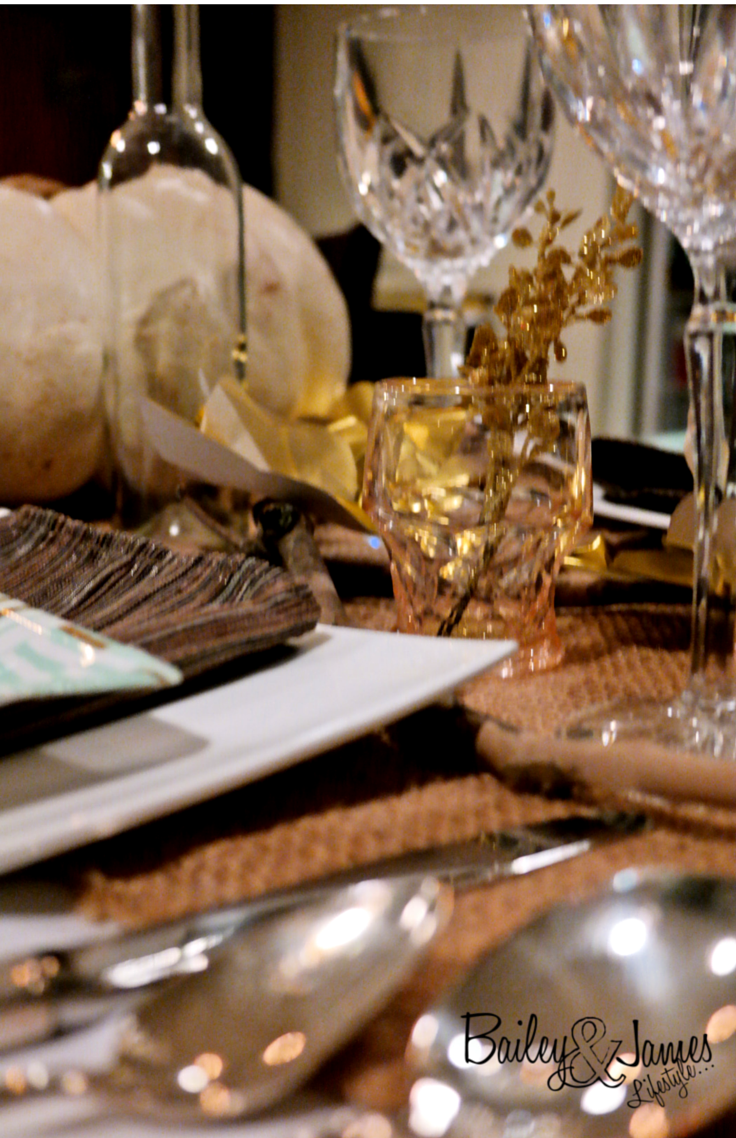 Thanksgiving Tablescape Bailey and James 1