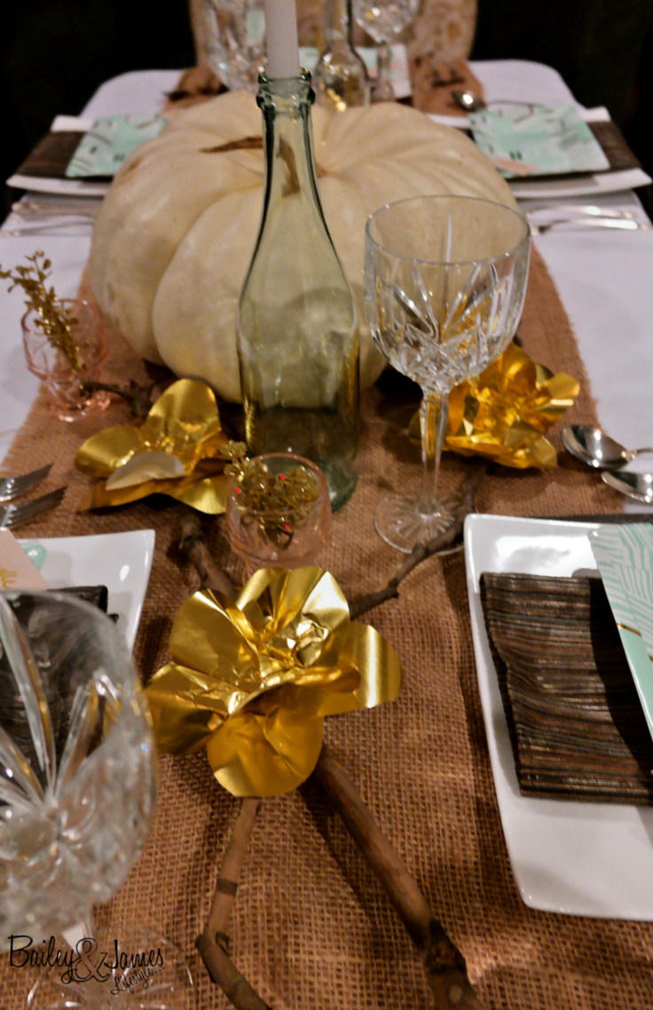 Thanksgiving Tablescape Bailey and James 7