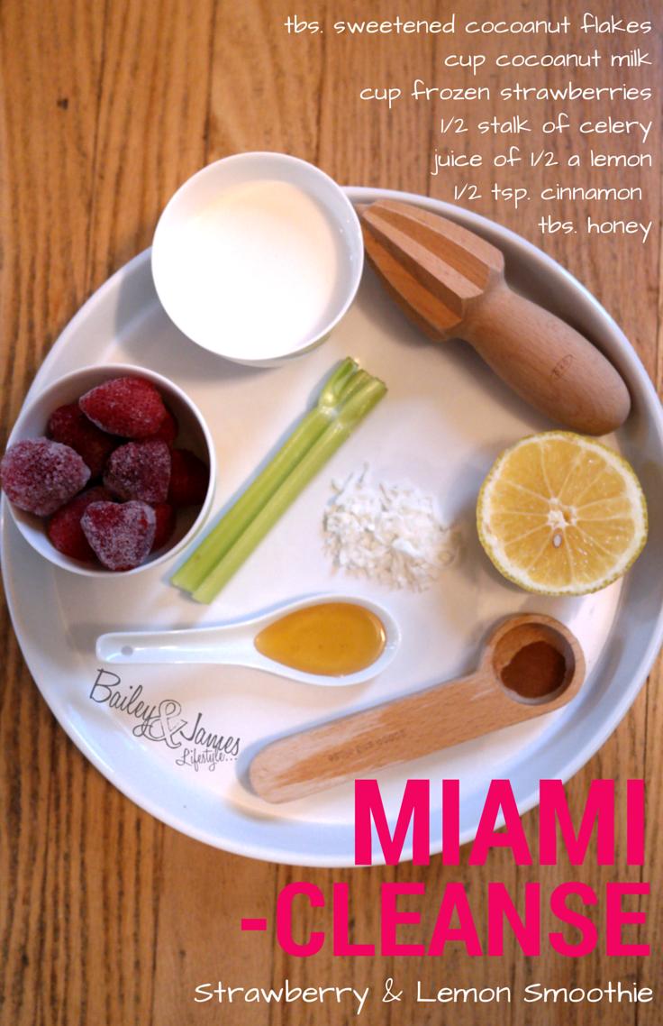 Miami Cleanse Smoothie