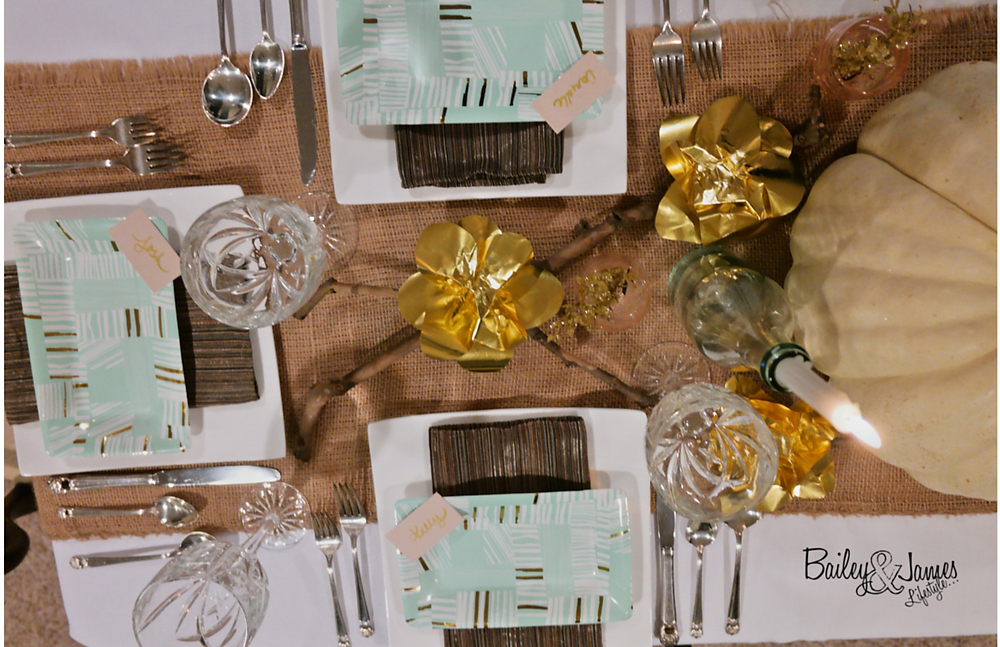 Thanksgiving Tablescape Bailey and James 17