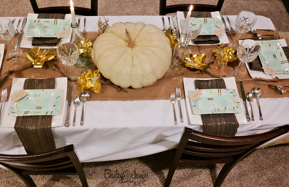 Thanksgiving Tablescape Bailey and James 18