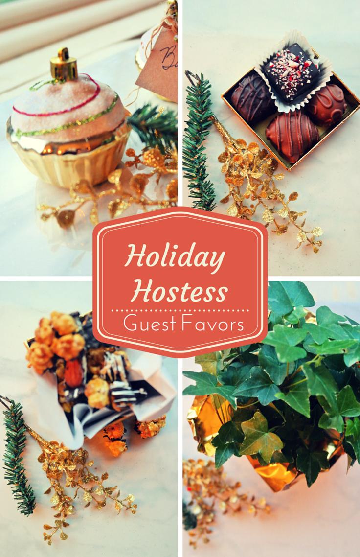 Holiday Hostess Guest Favors: Lavish Lemon Link Up