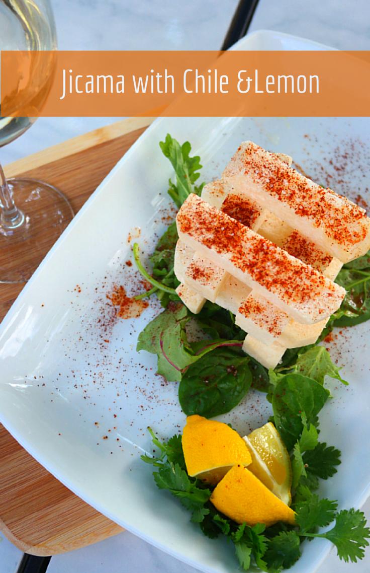 Vintage Ladle: Jicama with Chile &Lemon